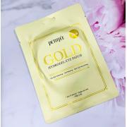 Petitfee, Gold, Hydrogel Eye Patch, 1 Pair