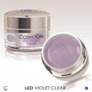 COSMO ГЕЛЬ CLEAR VIOLET LED 50 МЛ